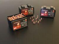 Norica Devast Copper Plated Streamlined pellets. .177/4.5mm Qty 400, Free P & P