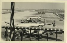 PHOTO ANCIENNE - VINTAGE SNAPSHOT - AVION AIR FRANCE AÉROPORT TARMAC - PLANE