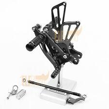Rear Set Rearset Footpeg for Honda CBR600F F4 1999-2000/F4i 2001-07 Brake Shift