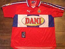 1998 1999 RCD Espanyol Home Football Shirt Adults XS Medium Camiseta