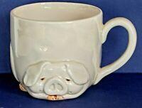 "FITZ and FLOYD ""PORKY MUG"" Pig China Coffee Cup/Mug VTG 1977  ~ Japan ~ MINT"