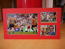 Signed & Mounted Jonny Wilkinson 2003 England Rugby Union World Cup Display