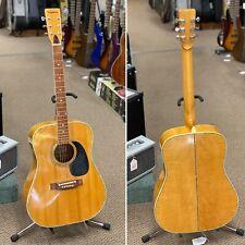 1970's Ventura (Japan) V-29 Spruce/Maple Acoustic Guitar