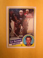 1984-85 Topps Rookie #14 Tom Barrasso Pittsburgh Penguins RC