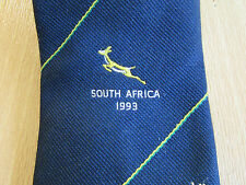 Forty Club XL South AFRICA Tour 1993 CRICKET Club Tie - SEE PICTURES