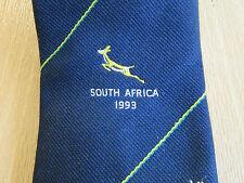 Cuarenta Club Xl Sudáfrica Tour 1993 Cricket Club tie-Ver Fotos