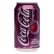 6x 355ml Coca Cola Cherry Original USA Import Softdrink (4,69€/l)