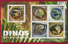2016  Canada   Permanent   SS    DINOS OF CANADA    Pristine  Post Office Fresh