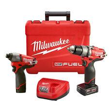 Milwaukee 2597-22 M12 FUEL 12-Volt Cordless Power Lithium-Ion 2-Tool Combo Kit