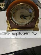 Vintage Hammond Synchronous Electric Bakelite Mantel Alarm Clock