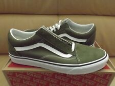 234945a94880 Vans Old Skool Men s Skate Shoes Size 11 Winter Moss True White VN0A38G1OW2  NEW