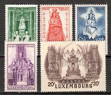 Luxembourg - 1945 Madonna of Luxembourg - Mi. 382-86 MNH