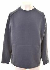 NIKE Mens Sweatshirt Jumper 2XL Navy Blue Cotton  AK04