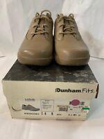 Women's Dunham Greenland Oxford Mocha Nursing Shoes Size 6 B New $95