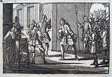 Philippe II. de Bourbon, duc d'Orléans 1703 Festnahme Arrest Gesandte