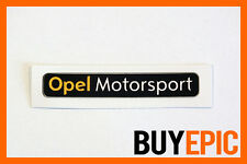 Opel motorsport pegatinas negro, 50mm x 8mm sticker, corsa, Astra, 16v, Turbo