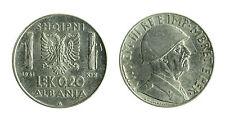 pcc1712_11) ALBANIA Vittorio Emanuele III  (1939-1943) 0,2 LEK 1941