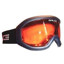 Salice Summit Ski Snowboard Goggles Anti-fog Lens - Baltic Blue / Orange