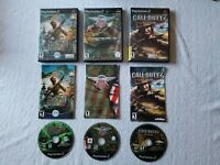 (Lot of 3 Complete Games) War/Fighting PS2 Playstation 2, CIB, TESTED working