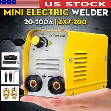 200a 110v Mma Arc Mini Welding Machine Dc Portable Electric Igbt Inverter Welder