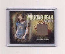 THE WALKING DEAD SEASON 2 MADISON LINTZ/SOPHIA MEMORABILIA CARD #M20