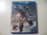 Pacific Rim (Blu-ray, 2013, 3D & 2D) Brand New and Sealed