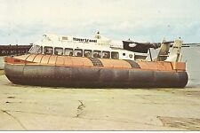 SRN-6 Hovercraft UK Ferry Postcard 1960s