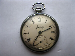 Vintage pocket Watch MOLNIJA, SOVIET/USSR, RUSSIA