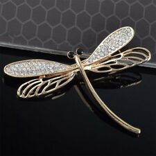Delicate Dragonfly Insect Women Gift Fashion Jewelry Brooch Lapel Scarf Pin