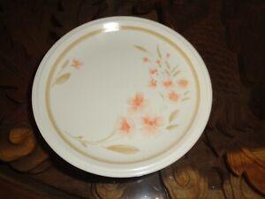 Staffordshire Biltons Side Plate Peach Flowers MAYFAIR Pattern