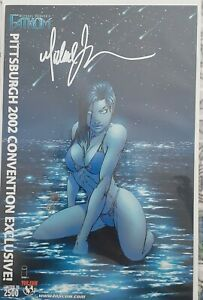 Fathom signed by Michael Turner Pittsburgh con exclusive 2002