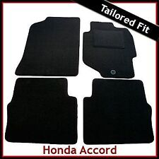 HONDA ACCORD Mk6 1998-2002 Tailored Carpet Car Floor Mats BLACK