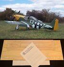 "64"" Ws P-51D MUSTANG R/c Plane partial kit/short kit and plans, PLS READ!"