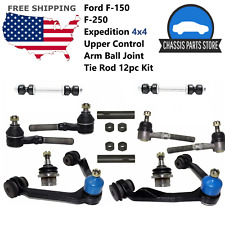 Ford F-150 F-250 Expedition 4x4 Upper Control Arm Ball Joint Tier Rd 12 PCS Kit