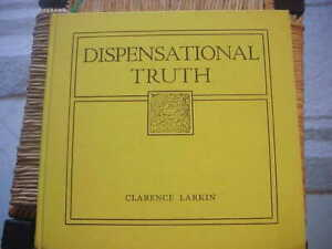 1920 Dispensational Truth Clarence Larkin God's Plan And Purpose Charts Diagrams