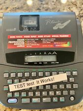 Brother P Touch Extra Pt 320 Label Maker Home Electronic Labeling System Works