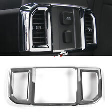 Chrome Inner Rear Air Condition Vent Cover Trim For Ford F150 F-150 2015-2019