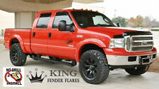 99-07 F-250 / F-350 Super Duty POCKET RIVET Bolt-on KING FENDER FLARES smooth