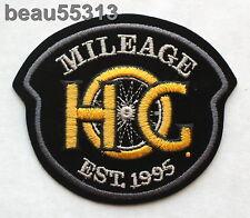 HARLEY DAVIDSON OWNERS GROUP HOG H.O.G.1995 MILEAGE MILES VEST JACKET PATCH