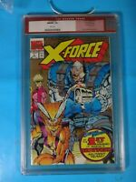 CGC Comic graded 9.8 Marvel X force 2nd print #1 Key issue