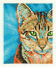 DMC Cross Stitch Kit - Cats - Tabby