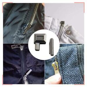 10 PCS Zipper Accessories Metal Zipper Bolt Repair Tailor Stopper Sewing B1Z9