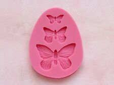 Butterfly Insect Bug Silicone Mold Flexible for Resin Craft or Food