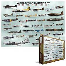 World War 2 Aircraft 1000 piece jigsaw puzzle 680mm x 490mm (pz)
