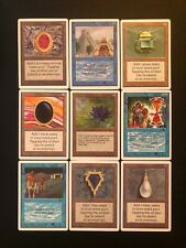 Mtg Proxy Power Nine Full Set , P9, Black Lotus , Time Walk, Mox´s etc
