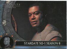 Stargate SG1 Season 8 Promo Card P3