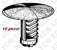 Bottone fissaggio rivestimento Alfa Romeo / Fiat / Lancia