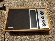 Panasonic RE 6516 AM/FM Radio Counter Model Wood Case Vintage Made in Japan