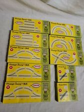 AURORA POSTAGE STAMP N SCALE BUS AND TRACK SERIES KITS LOT