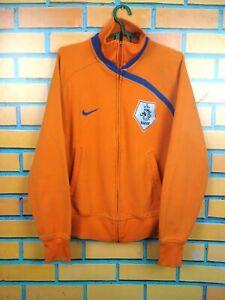 Holland Netherlands Women Jacket Size SMALL Full Zip Nike Football Soccer